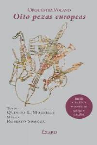 Oito pezas europeas orquesta voland (+ cd e dvd)