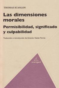 Dimensiones morales,las