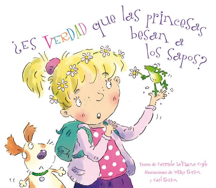 Es verdad que las princesas besan a los sapos