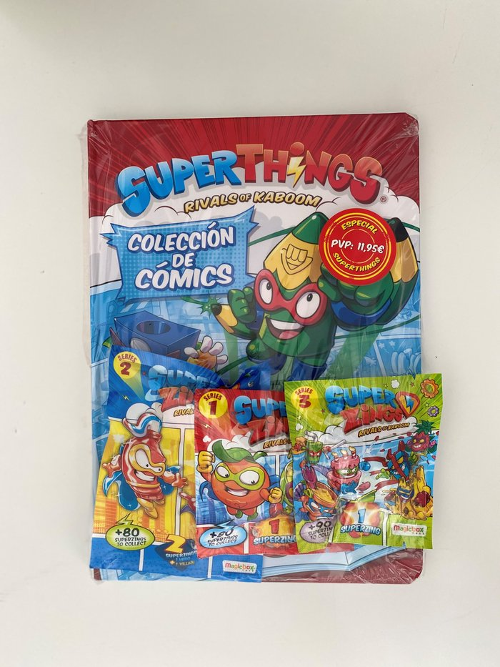 Superzings coleccion de comics