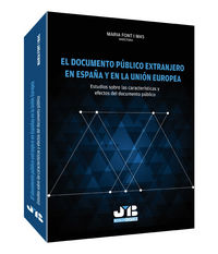 Documento publico extranjero en españa y en la union europea