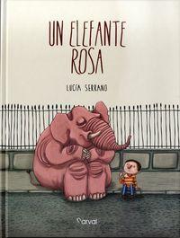 Un elefante rosa
