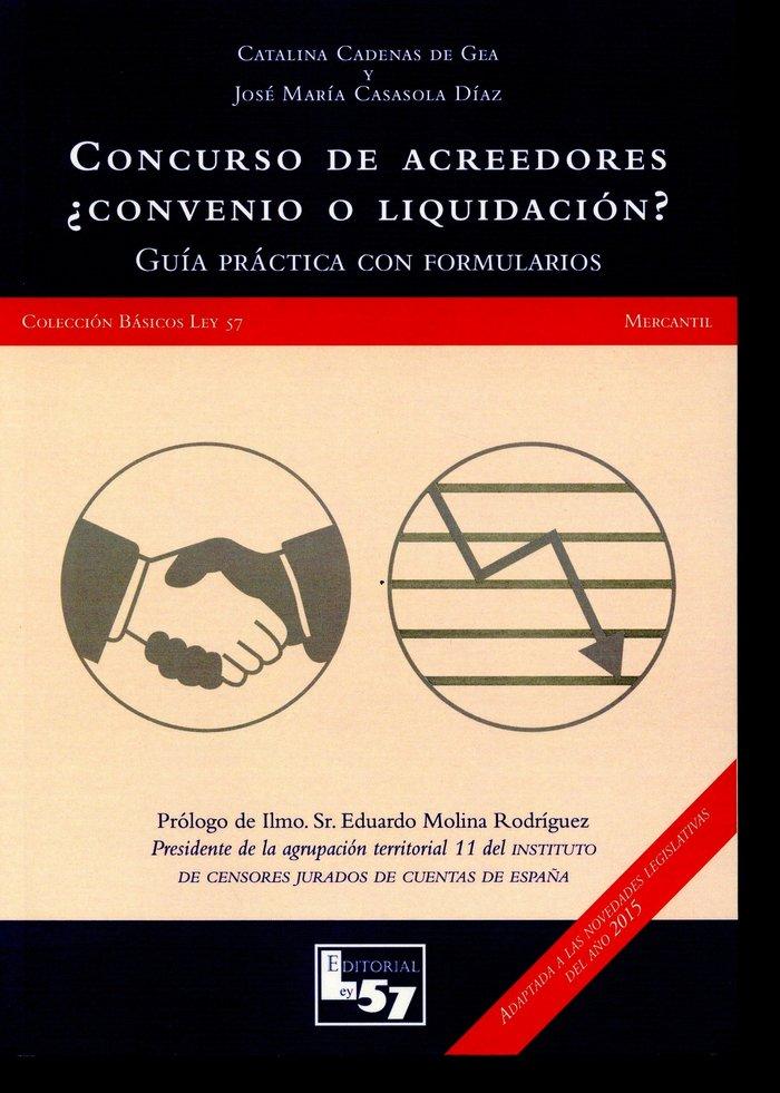 Concurso de acreedores convenio o liquidacion