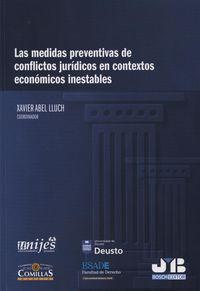 Medidas preventivas de conflictos juridicos en contextos eco