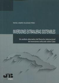 Inversiones extranjeras sostenibles