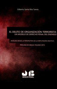 Delito de organizacion terrorista: un modelo de derecho pena