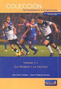 Tecnica y la tactica vol 2.1.
