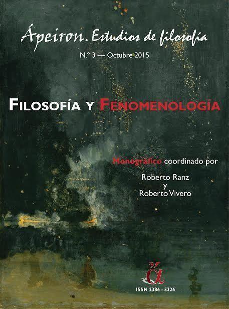 Filosofia y fenomenologia