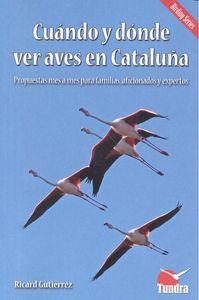 Cuando y donde ver aves en cataluña
