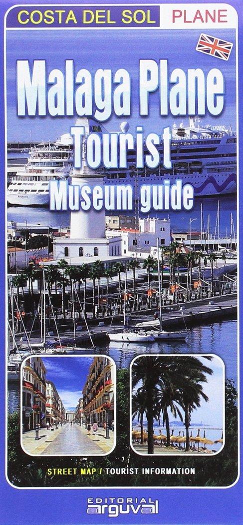 Malaga plane tourist museum guide costa del sol