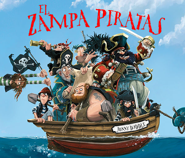 Zampa piratas,el