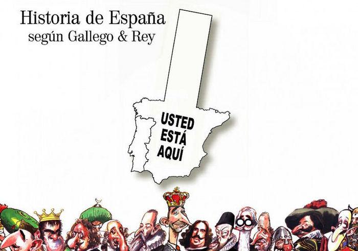 Historia de españa segun gallego & rey