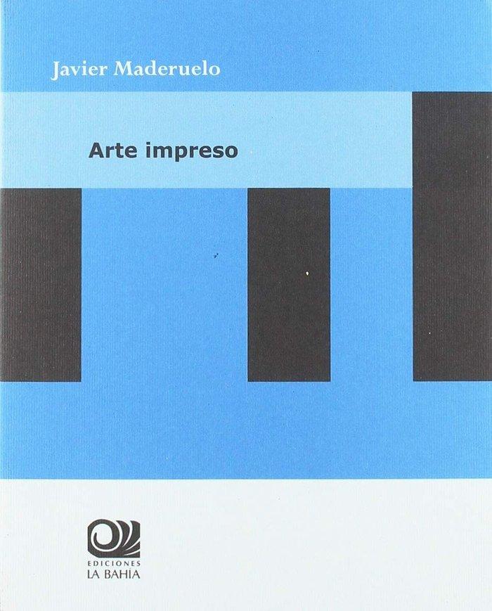 Arte impreso