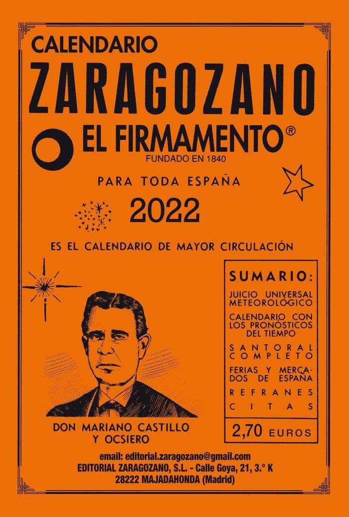 Calendario zaragozano 2022