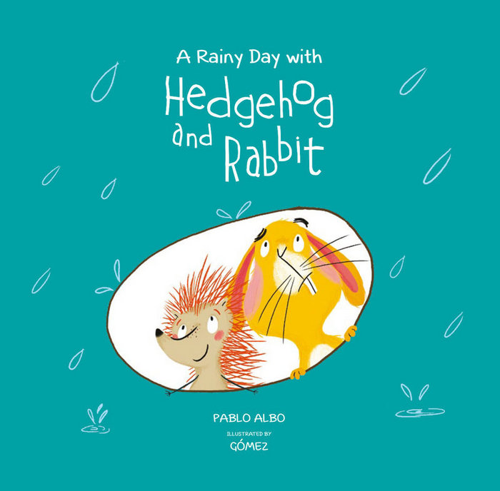 A rainy day with hedgehog and rabbit - ing
