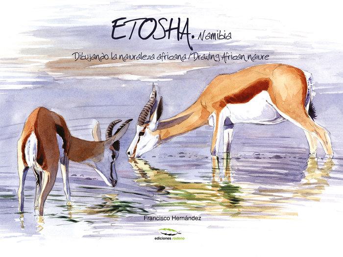 Etosha namibia dibujando la naturaleza africana (t)