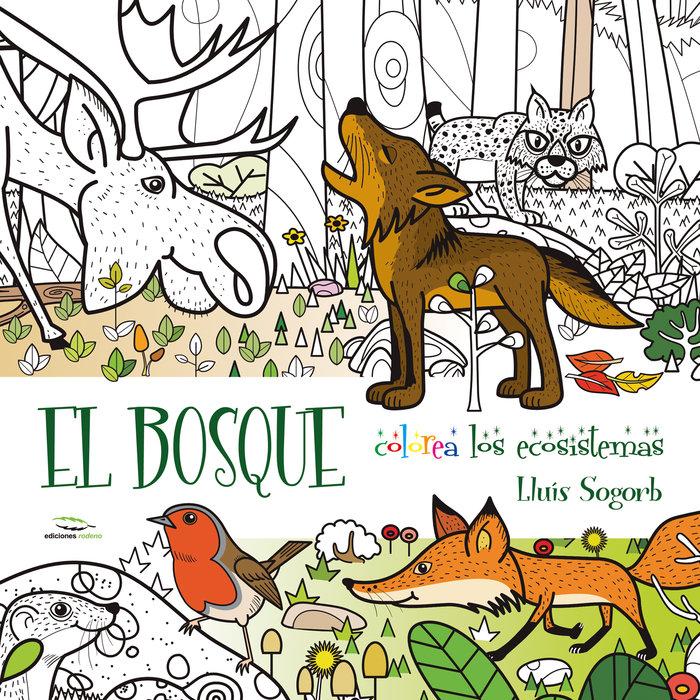 Bosque colorea con los ecosistemas