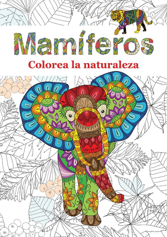 Mamiferos colorea la naturaleza