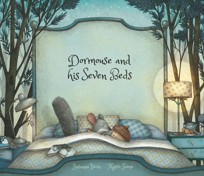 Dormouse and his seven beds ingles