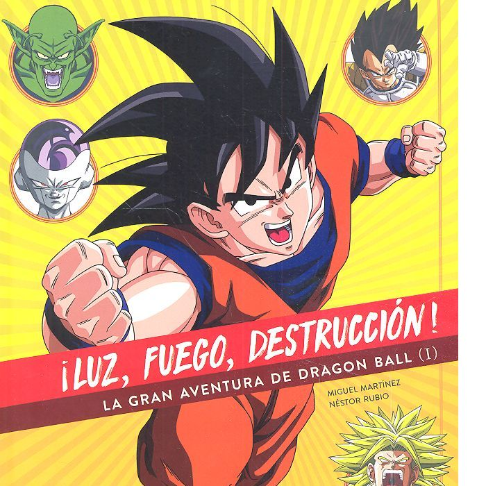 Luz fuego destruccion la gran aventura de dragon ball