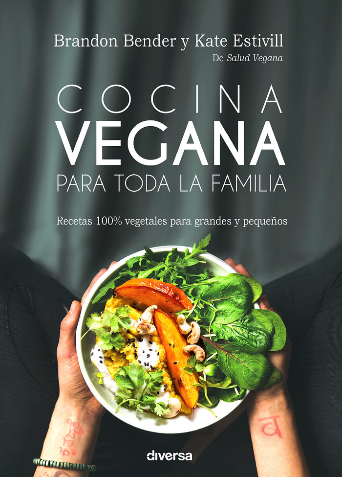 Cocina vegana para toda la familia