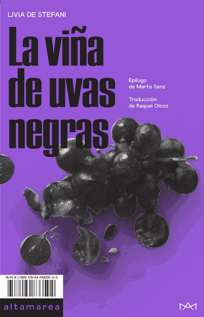 Viña de uvas negras,la