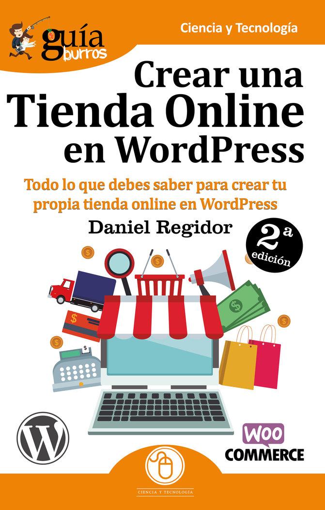Guiaburros crear una tienda en wordpress