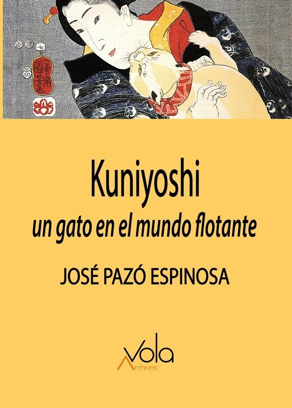 Kuniyoshi un gato en el mundo flotante
