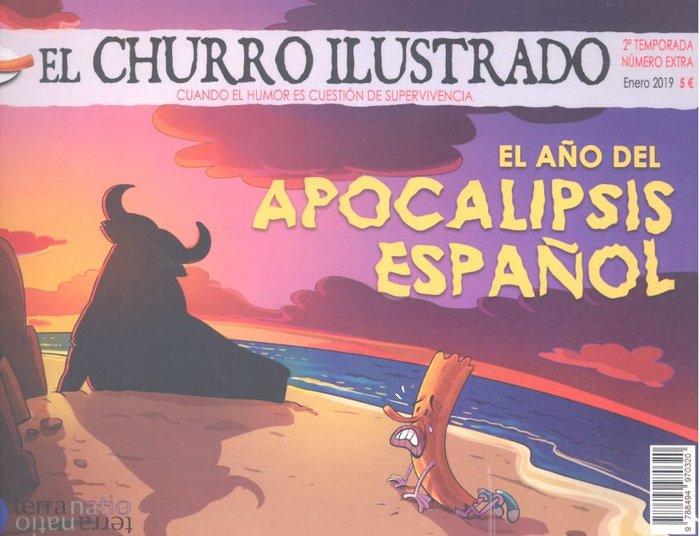 Churro ilustrado 2 temporada numero extra,el