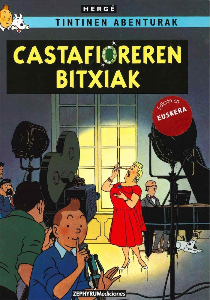 Tintin castafioreren bitxiak euskera