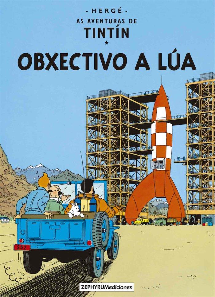 Obxectivo a lua tintin gallego