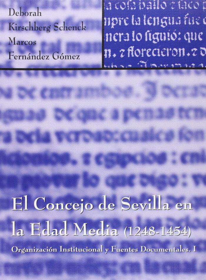 Concejo de sevilla en la edad media (1248-1454),el