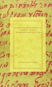 Baltasar elisio de medinilla y la poesia toledana