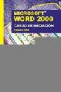 Word 2000 curso de iniciacion