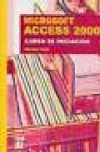 Access 2000 curso de iniciacion