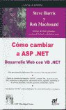 Como cambiar a asp.net