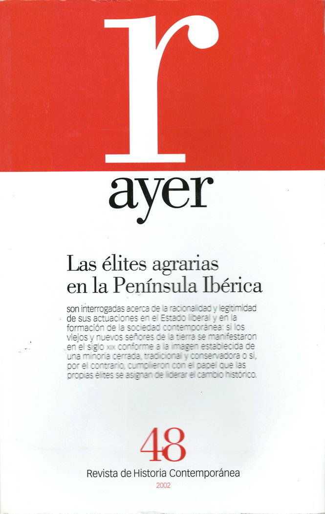 Ayer 48 elites agrarias en la peninsula iberica