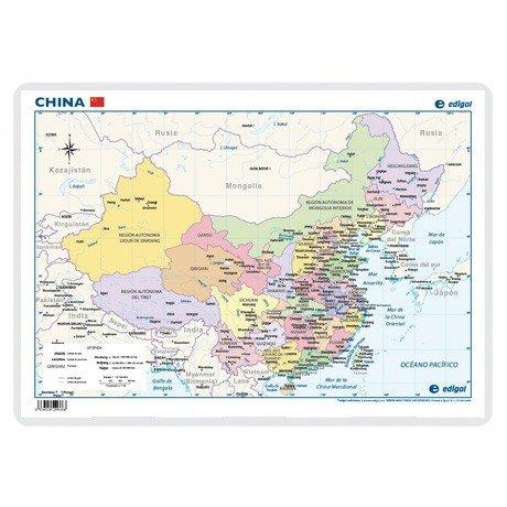 China politico lamina a3