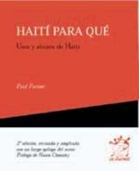 Haiti para que
