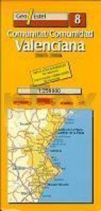 Mapa comunidad valenciana 1:250000 geo