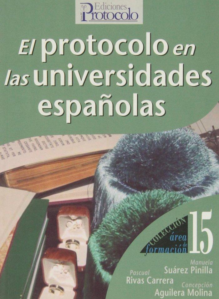 Protocolo en las universidades españolas,el