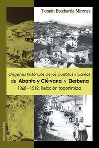Origenes historicos pueblos de abanto y ciervana 1068