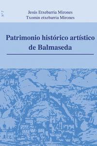 Patrimonio historico artistico de balmaseda nº 7