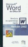 Miniguia word 2002