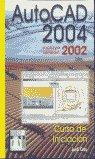 Autocad 2004 curso iniciacion