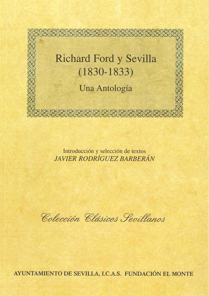 Richard ford y sevilla 1830-1833 una antologia