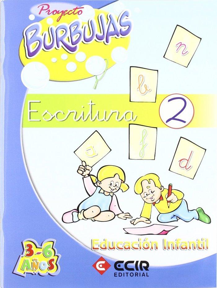 Cuaderno escritura 2 proyecto burbujas