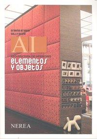 Elementos y objetos arquitectura de interiores