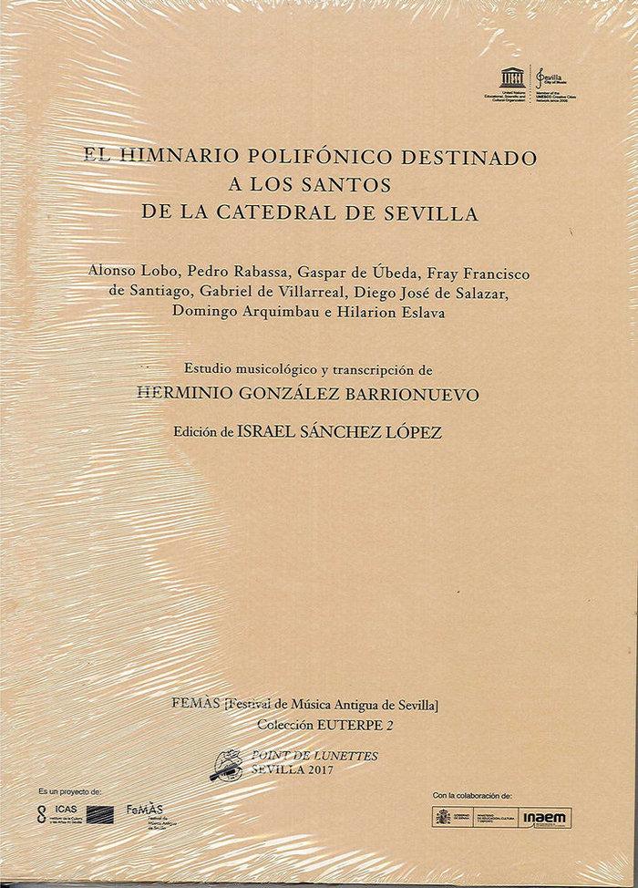 Himnario polifonico destinado a los santos de la catedral de