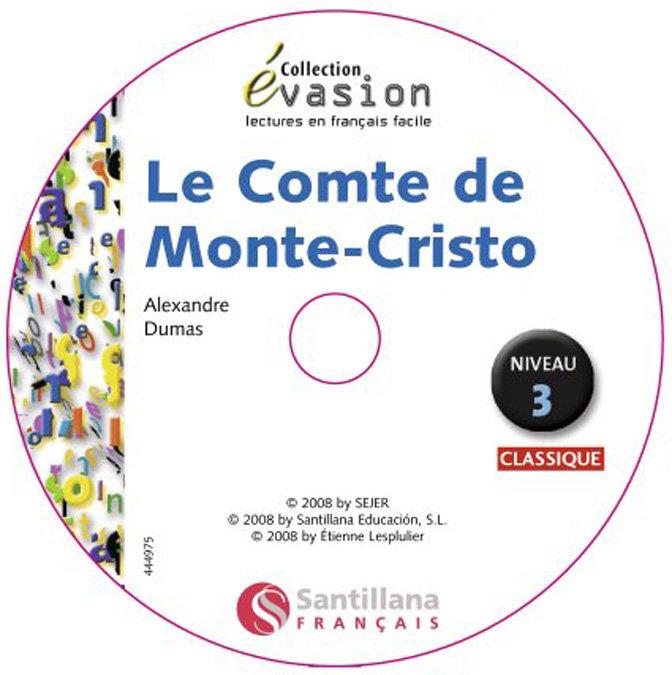 Comte monte cristo,le+cd evasion 3 pack